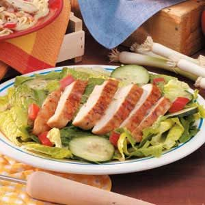 Hawaiian Grilled Chicken Salad Recipe
