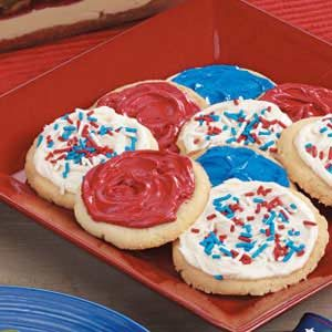 Frosted Butter Cookies Recipe