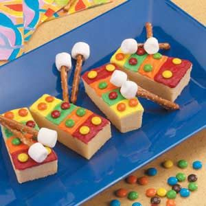 Xylophone Cakes on Musical Instruments Craft Idea For Kids
