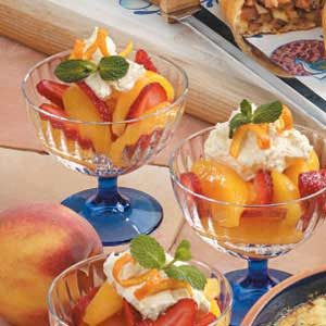 Strawberry Peach Cups Recipe