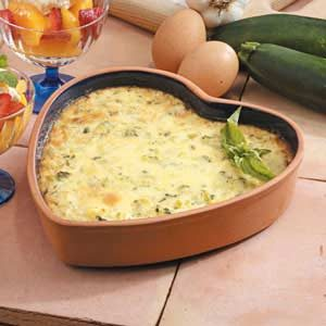 Zucchini Egg Bake Recipe