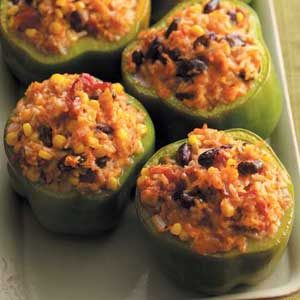 Vegetable-Stuffed Peppers Recipe