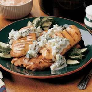 Cool Cucumber Chicken Recipe