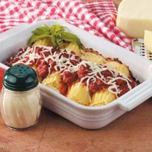 Manicotti for Two Recipe