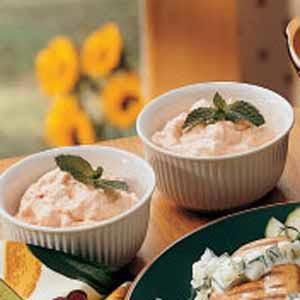 Peachy Applesauce Salad Recipe