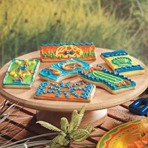 Beach Blanket Sugar Cookies Recipe