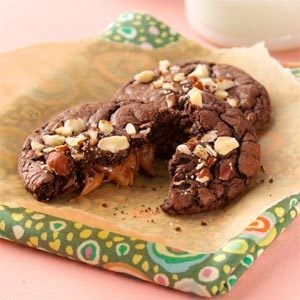 Chocolaty Caramel Cookies Recipe