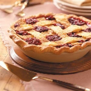 Cran-Raspberry Pie Recipe