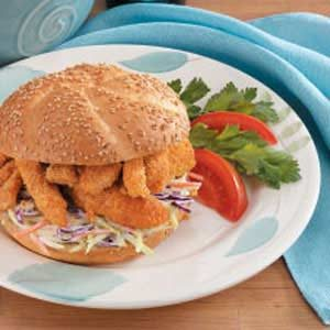 Catfish Po'Boys Recipe