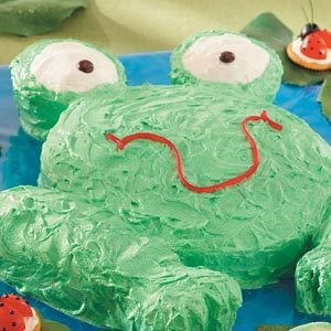 Hoppy Frog Cake Recipe