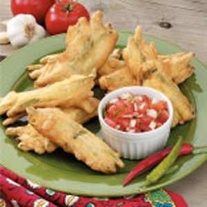 Green Bean Fritters Recipe