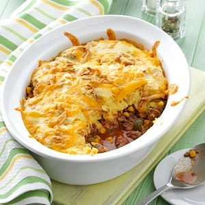 Corn Bread Taco Bake