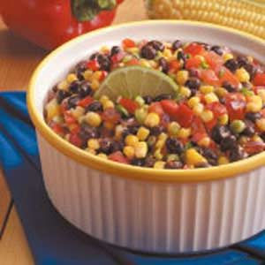 Quick Corn and Black Bean Salad Recipe