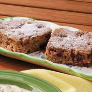 Cran-Apple Walnut Cake Recipe
