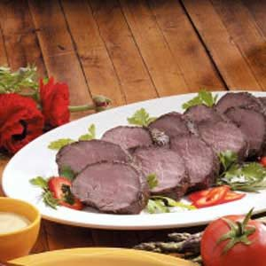 Garlic Herbed Beef Tenderloin Recipe