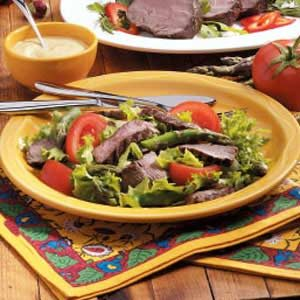 Beef Tenderloin Salad Recipe