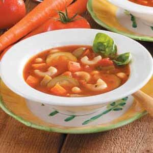 Garden Minestrone Soup Recipe