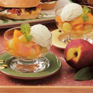 Grape Nectarine Dessert Cups Recipe