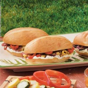 Roasted Veggie Sandwiches Recipe