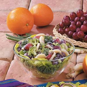 Grape Broccoli Salad Recipe