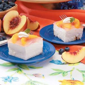 Peach Angel Dessert