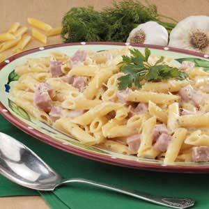 Ham and Cheese Ranch Pasta Recipe