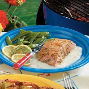 Grilled Citrus Salmon Fillet Recipe