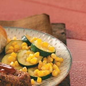 Zucchini Corn Saute Recipe photo by Taste of Home