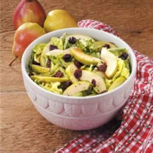 Fruity Green Salad with Honey Dressing Recipe