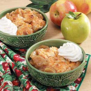 Country Apple Cobbler Recipe