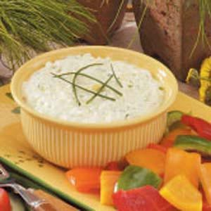 Chive Egg Dip Recipe