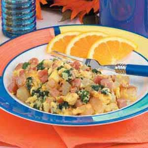Smoked Sausage Scramble Recipe