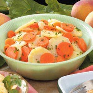 Parsnip Carrot Salad Recipe