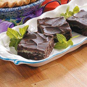 Frosted Cream Cheese Brownies