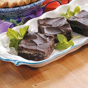 Frosted Cream Cheese Brownies Recipe