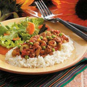 Cuban Ground Beef Hash Recipe