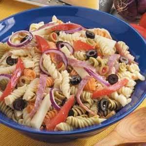 Deli-Style Italian Pasta Salad Recipe