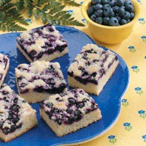 Blueberry Snack Cake Recipe