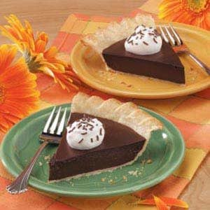 Old-Fashioned Chocolaty Pie Recipe
