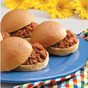 Classic Homemade Sloppy Joes