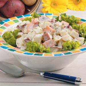 Three Potato Salad Recipe