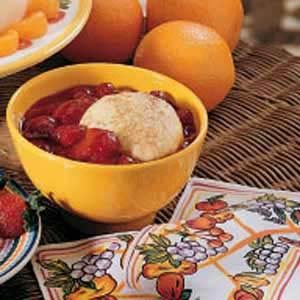 Cherry-Peach Dumplings Recipe