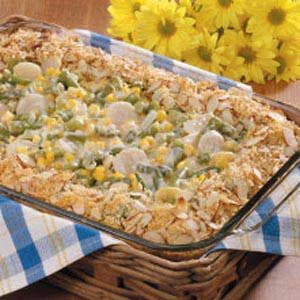 Crunchy Vegetable Bake Recipe