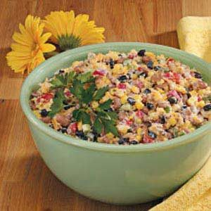Corn Bread Confetti Salad Recipe