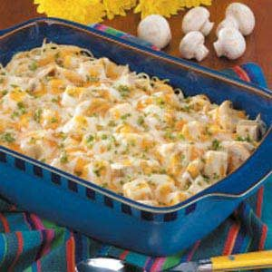 Leftover Turkey Tetrazzini Recipe