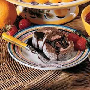 Ice Cream Cake Roll Recipe
