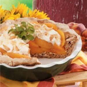 Contest-Winning Coconut Peach Pie Recipe Recipe