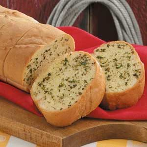Herbed Garlic Bread Recipe