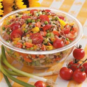 Contest-Winning Black-Eyed Pea Salad Recipe