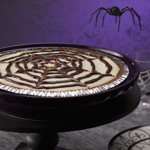 Spiderweb Cheesecake Recipe photo by Taste of Home